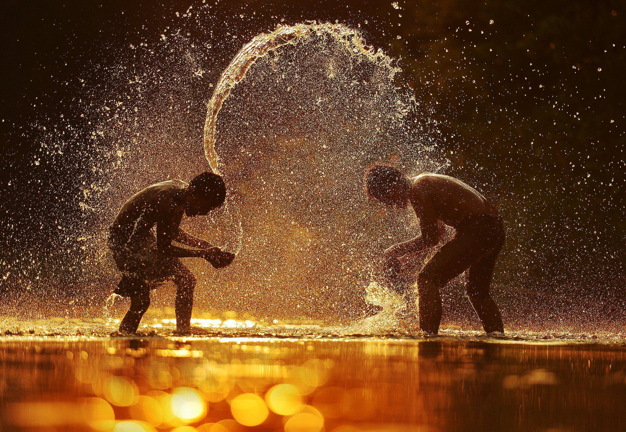 splash,water,swimming,child,kid,playing,asia,asian,thailand, Saravut Whanset