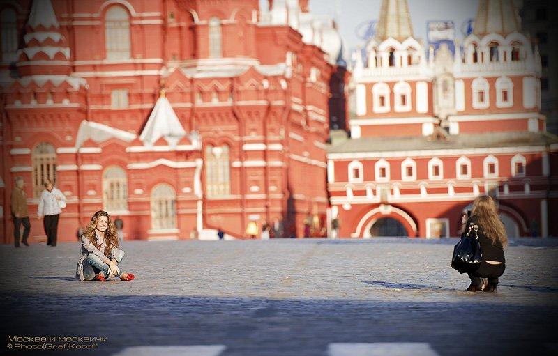 москва, площадь, красная, фотосъемка, девушки, кремль, исторический музей,, Yagor