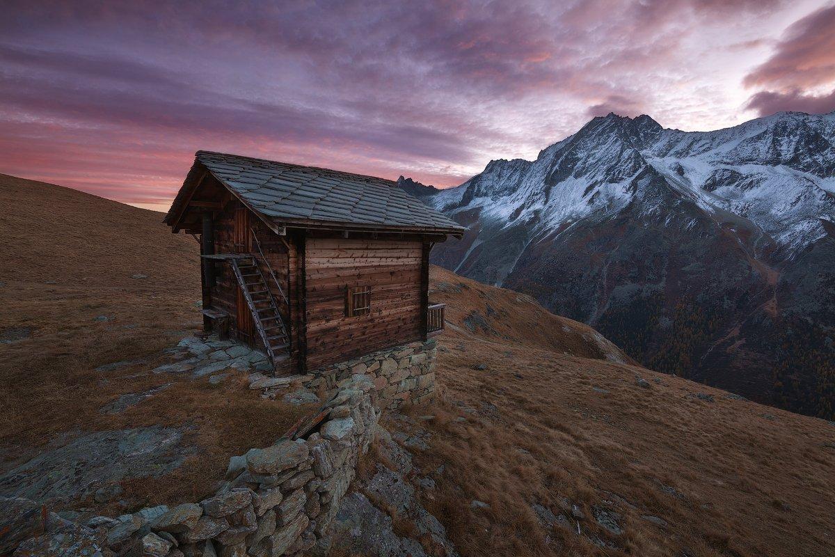 швейцария, альпы, рассвет, Alex Yurko