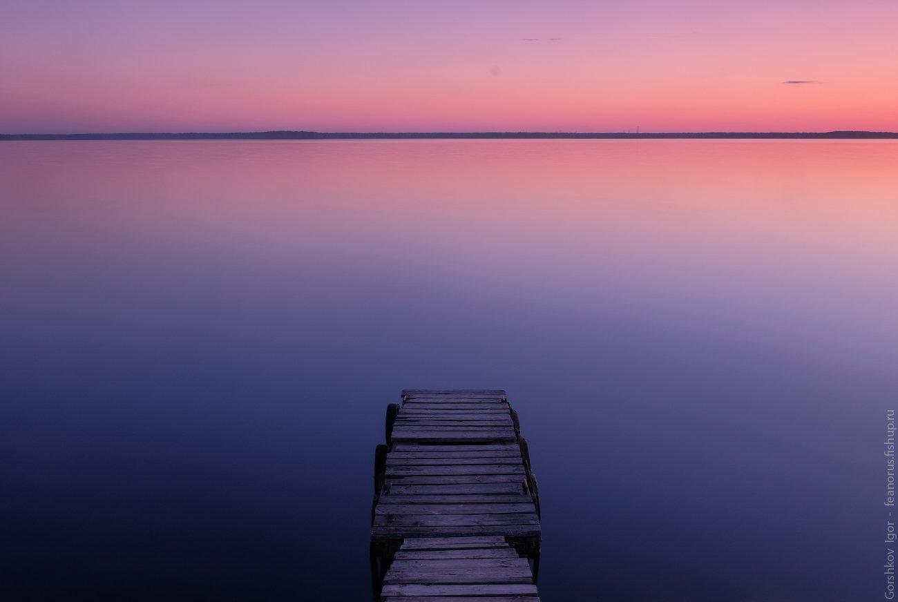 вода,вечер,сумерки,закат,мостки,неподвижность,минимализм,fujifilm, Горшков Игорь