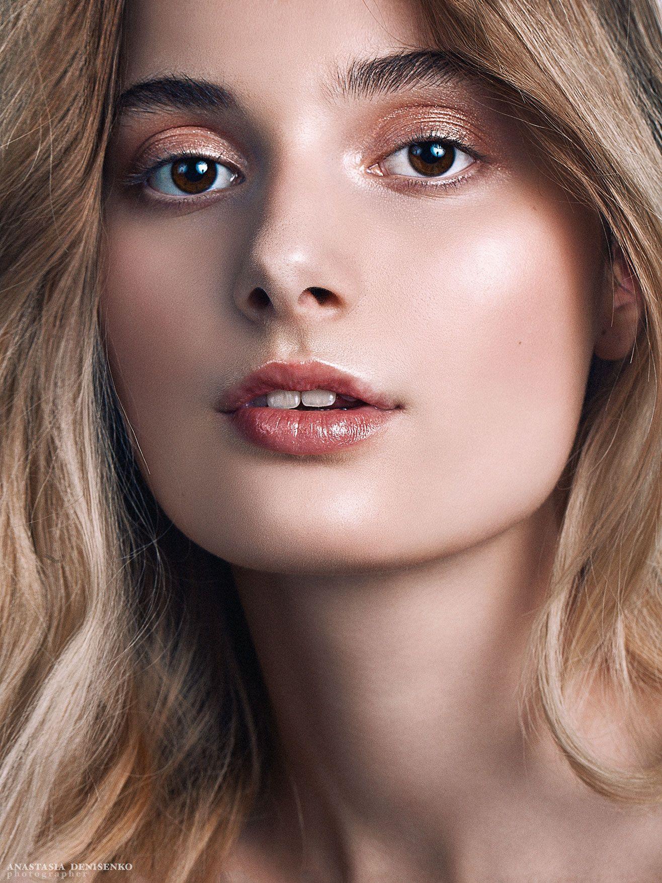 бьюти съемка портрет глянец красивая девушка модель фотограф москва студийная съемка портфолио, Анастасия Денисенко