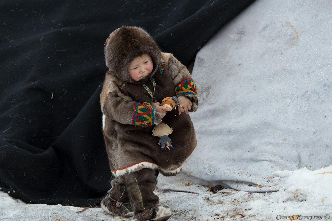 ненцы, дети, оленеводы, полярный урал, ямал, Сергей Карпухин