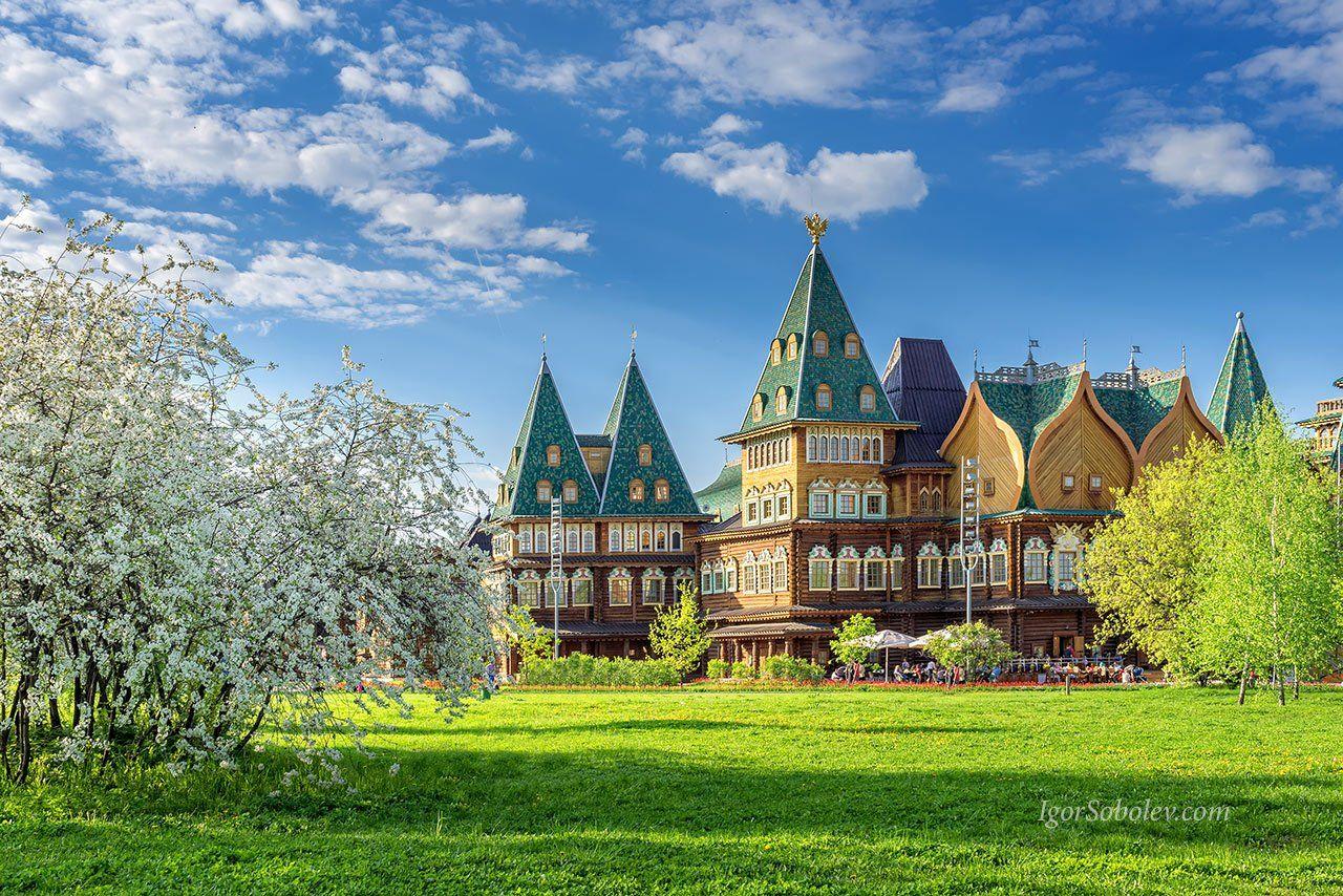 коломенское, дворец алексея михайловича, москва, весна, Соболев Игорь
