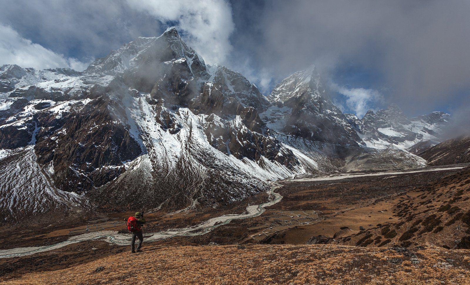 непал, эверест, гималаи, nepal, everest, himalayas, Шевченко Юрий