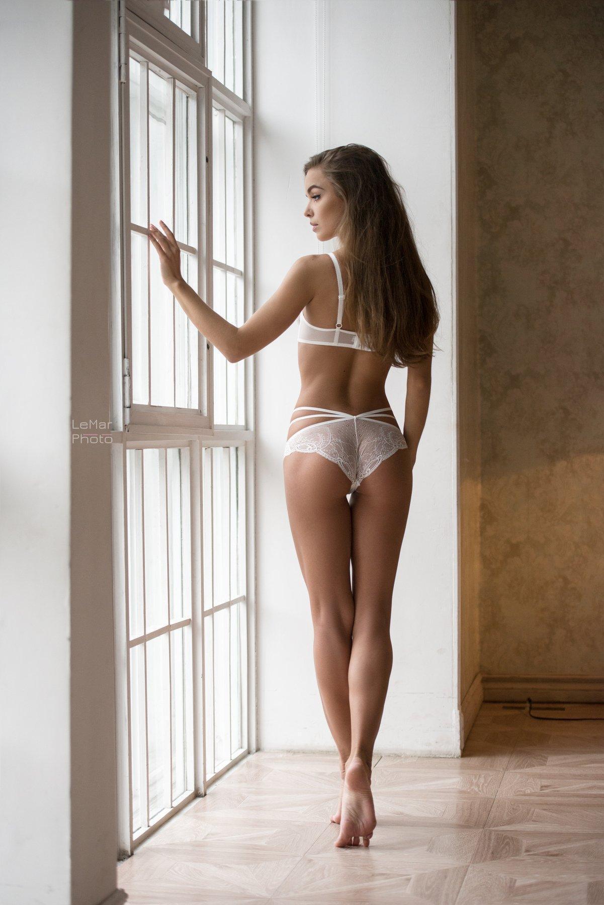 девушка, модель, москва, портрет, свет, день, студия, фотосессия, естественный свет, Леонид Маркачев
