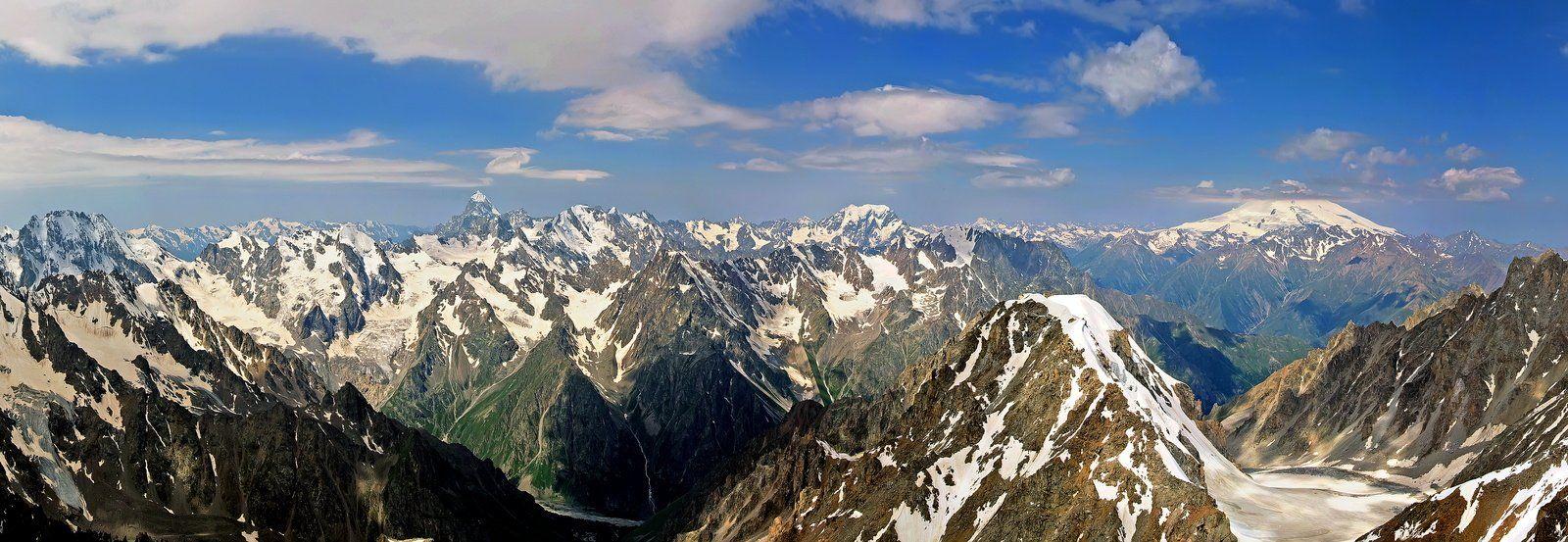 кавказ, приэльбрусье, горы, Максим Рогозин