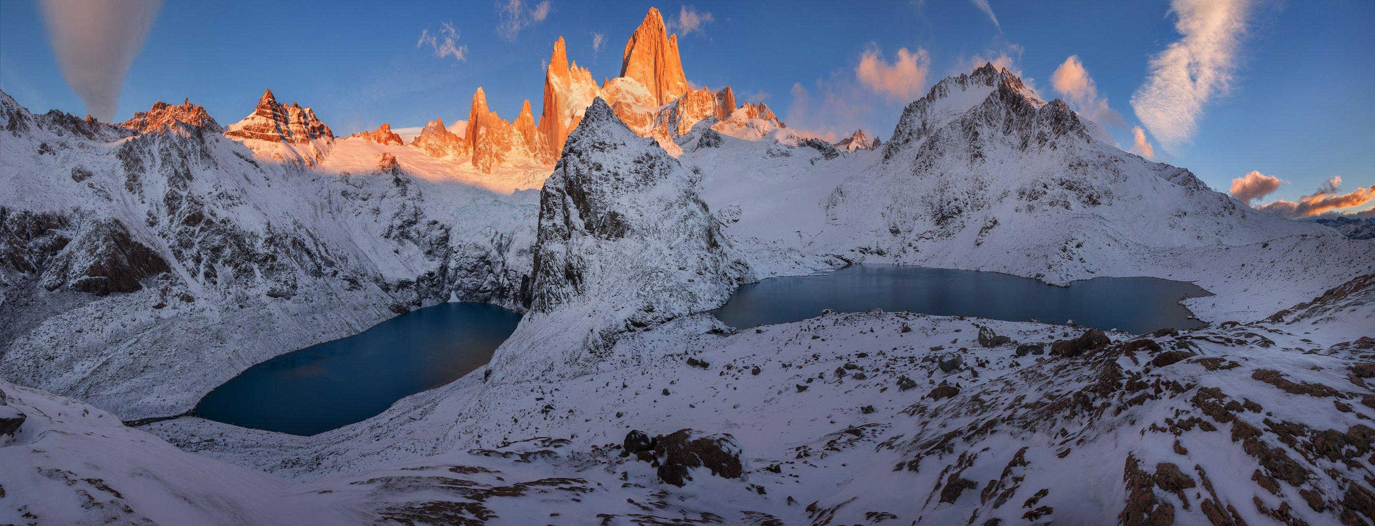 Патагония, Аргентина, Фиц Рой, горы, Владимир Рябков