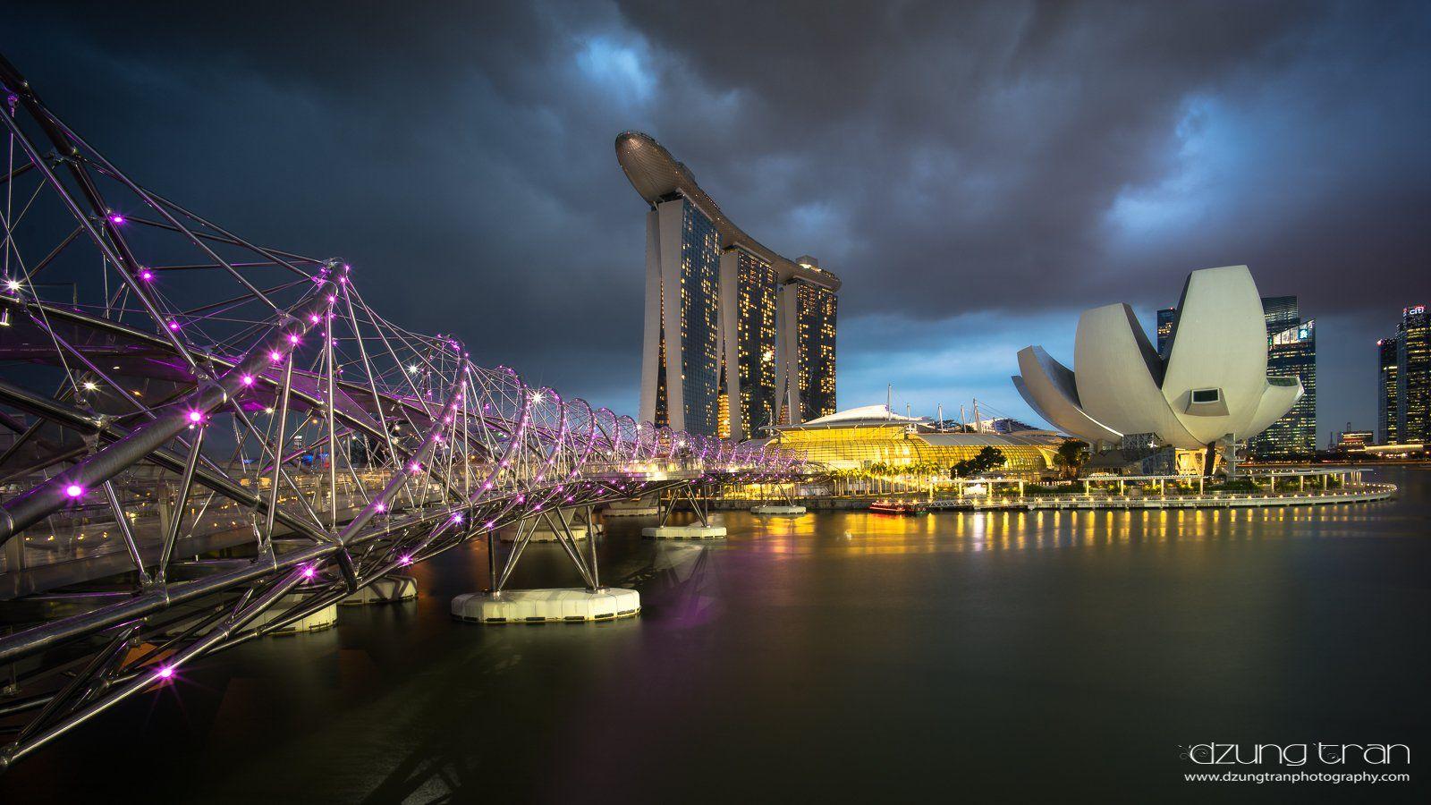singapore,cityspcae,helix,bridge, Tran Minh Dung