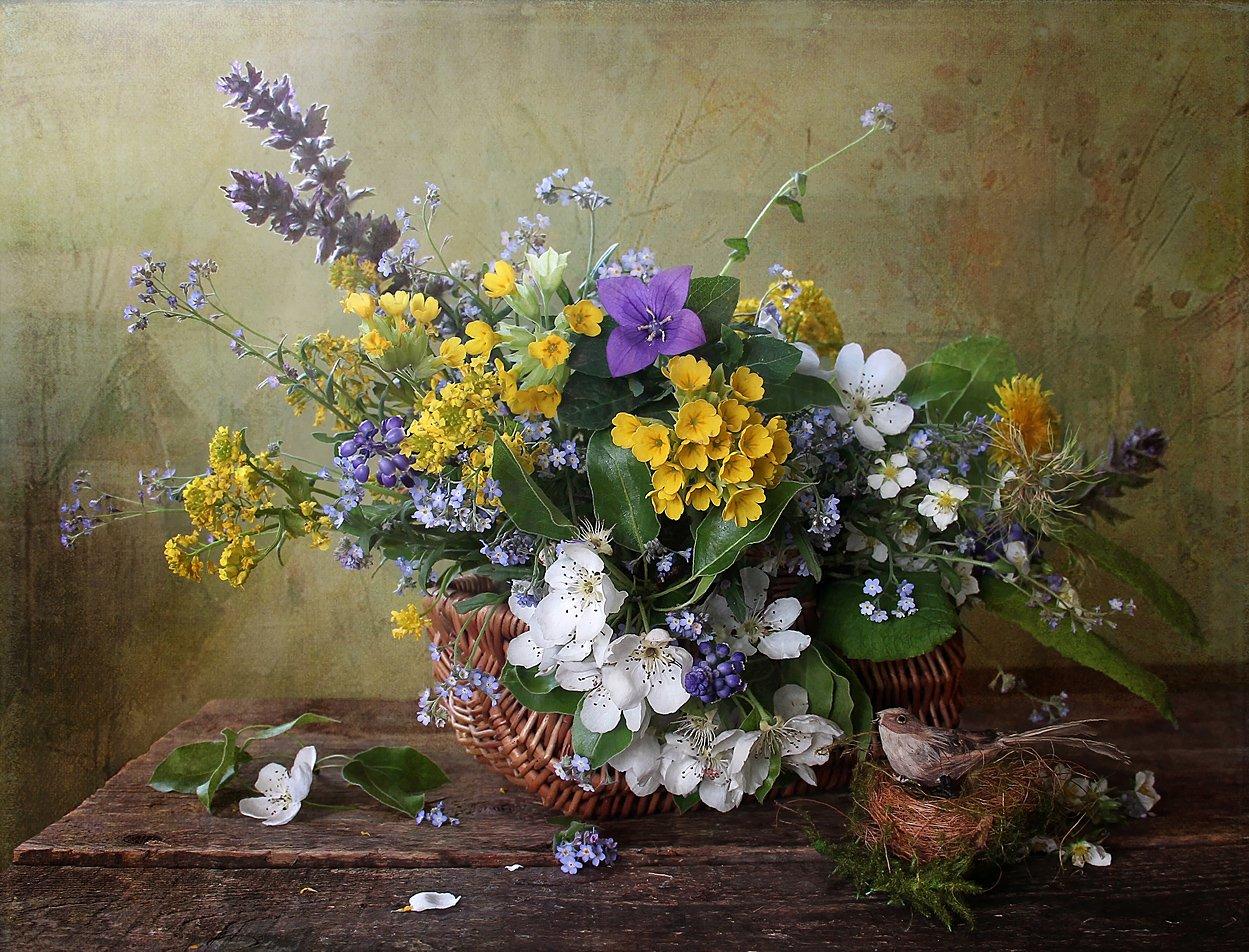 весна, цветы, первоцветы, натюрморт, марина филатова, Марина Филатова