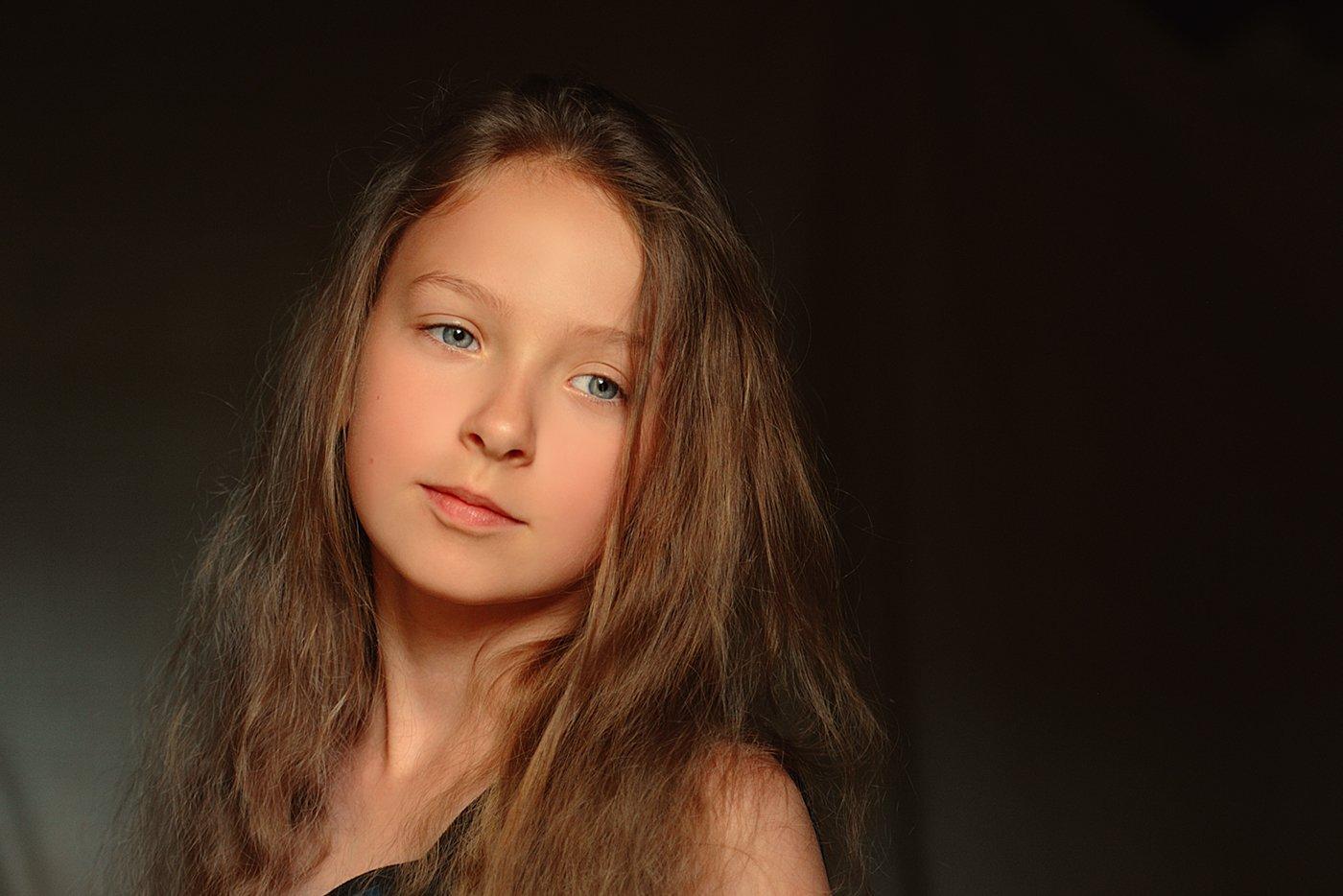 девочка, детство, портрет, Вьюшкин Игорь