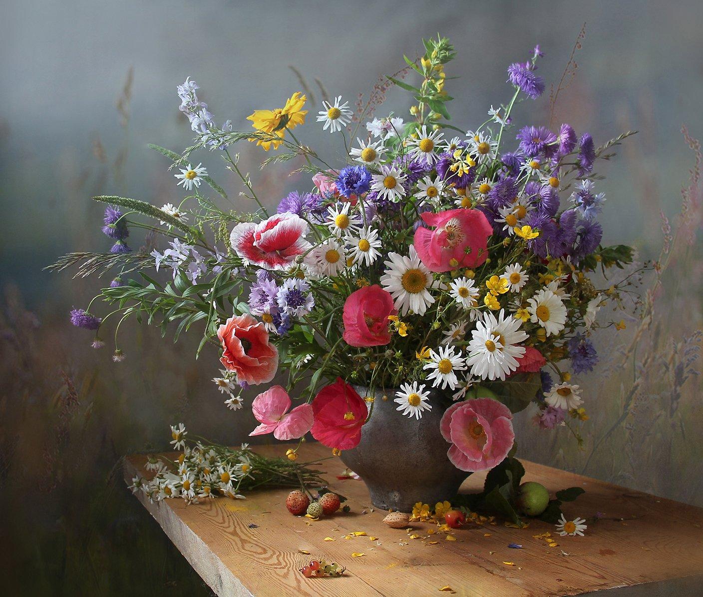 натюрморт, цветы, марина филатова, лето, Марина Филатова