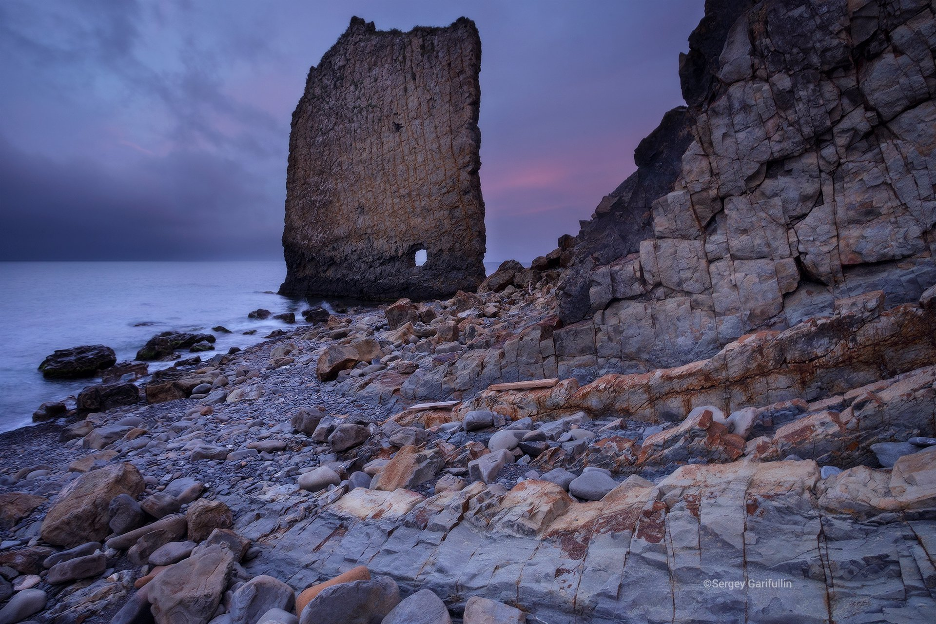 скала парус, краснодарский край, черное море, чёрное море, скала, Сергей Гарифуллин