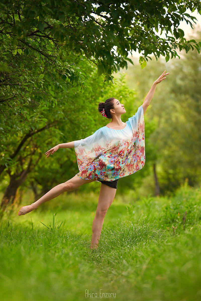 portrait, ballerina, ballet, outdoor, Akira Enzeru