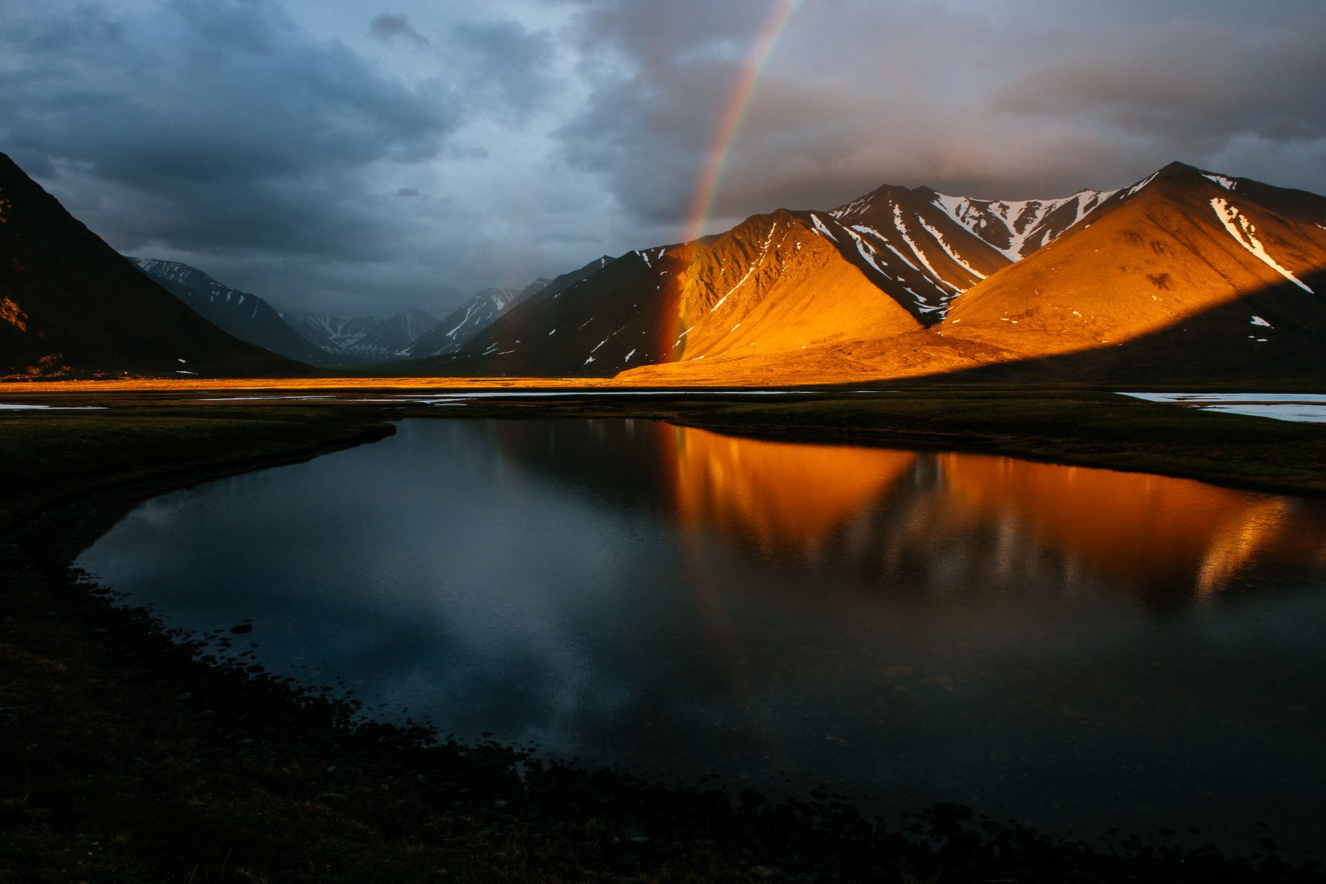 озеро, раучувагытгын, Иван Кислов