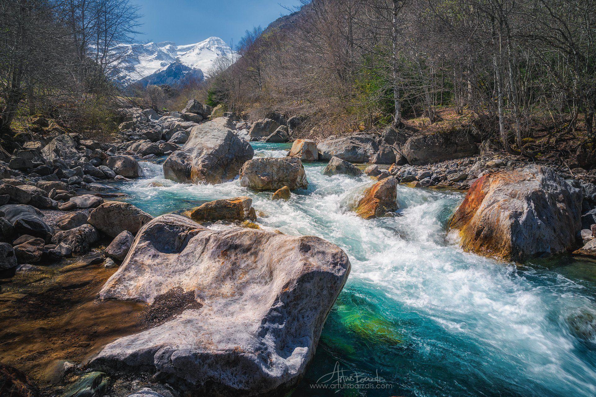 Река Гаварни Gavarnie, Arturs Barzdis