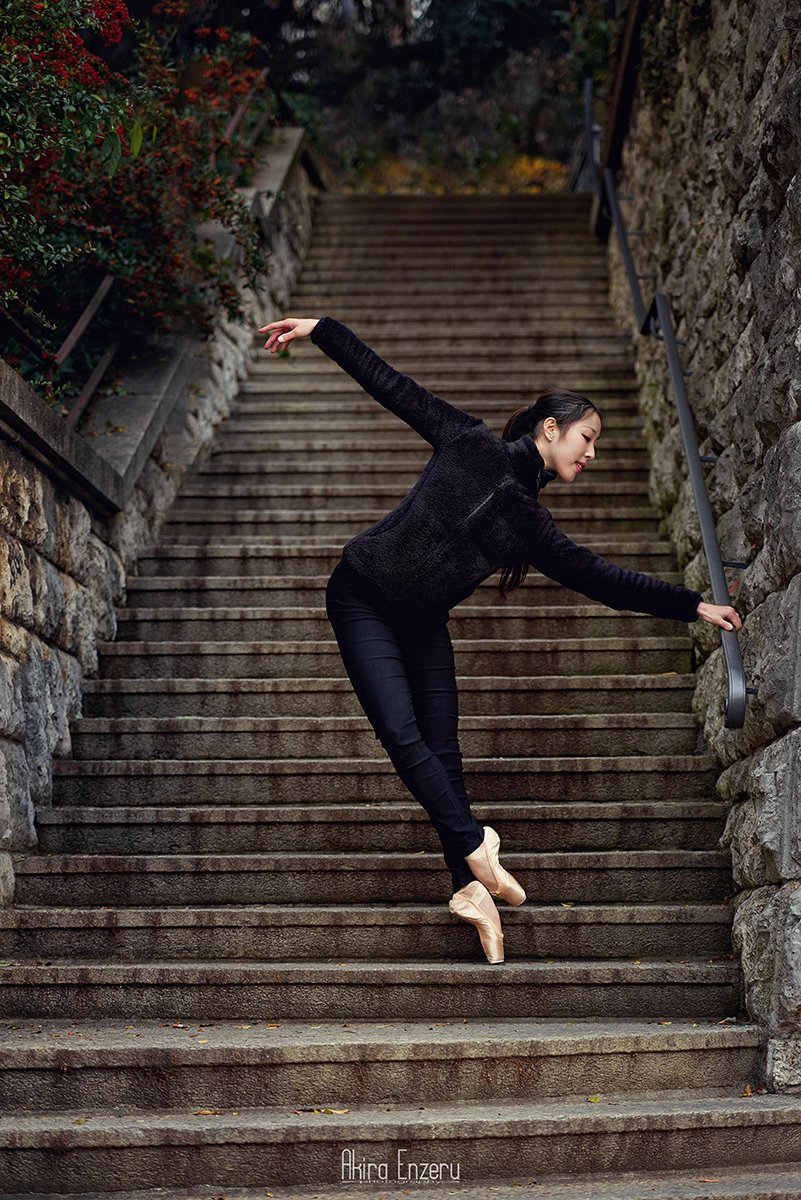 portrait, outdoor, ballet, ballerina, dance, Akira Enzeru
