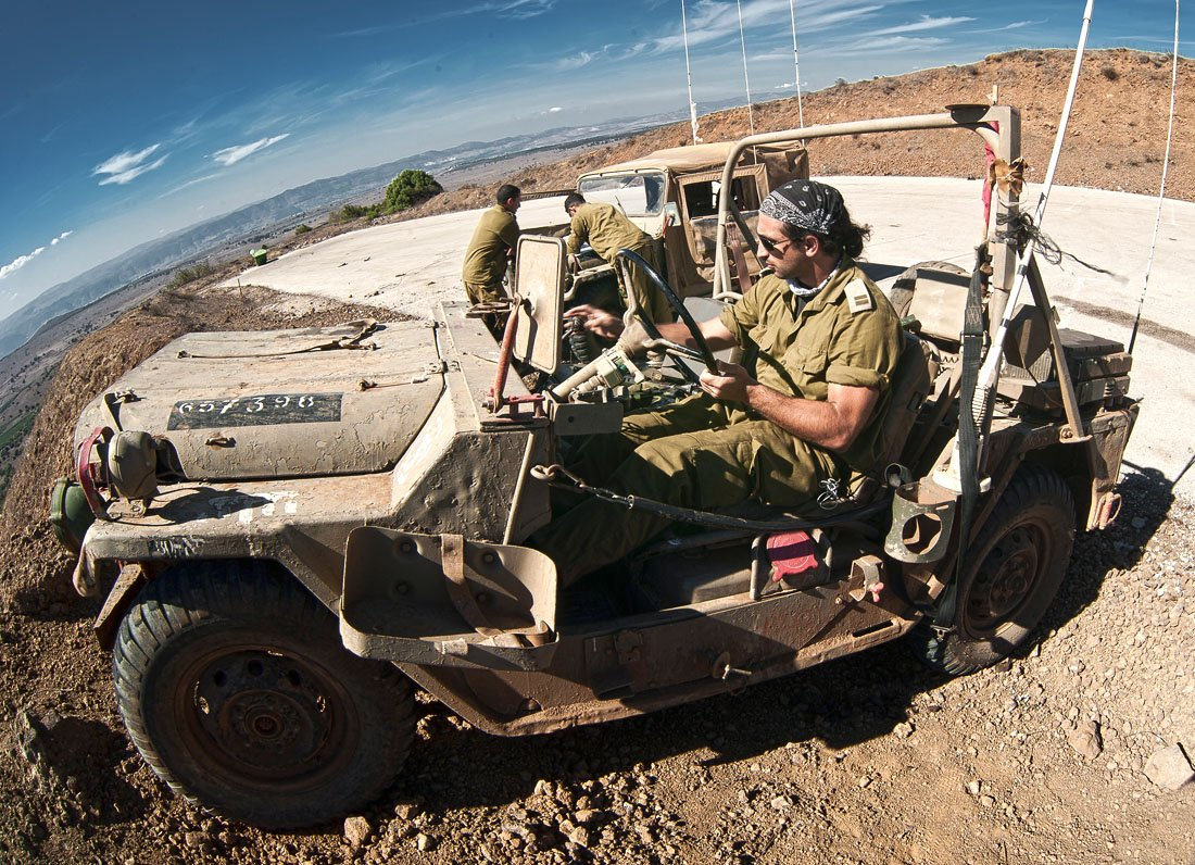 израиль, голаны, горы, граница, солдаты, пепелац, Макс Шамота
