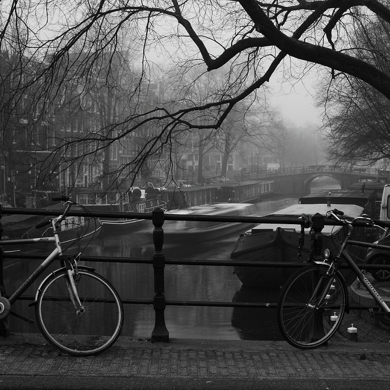 город, фото, велосипед, амстердам, Ольга Горелова