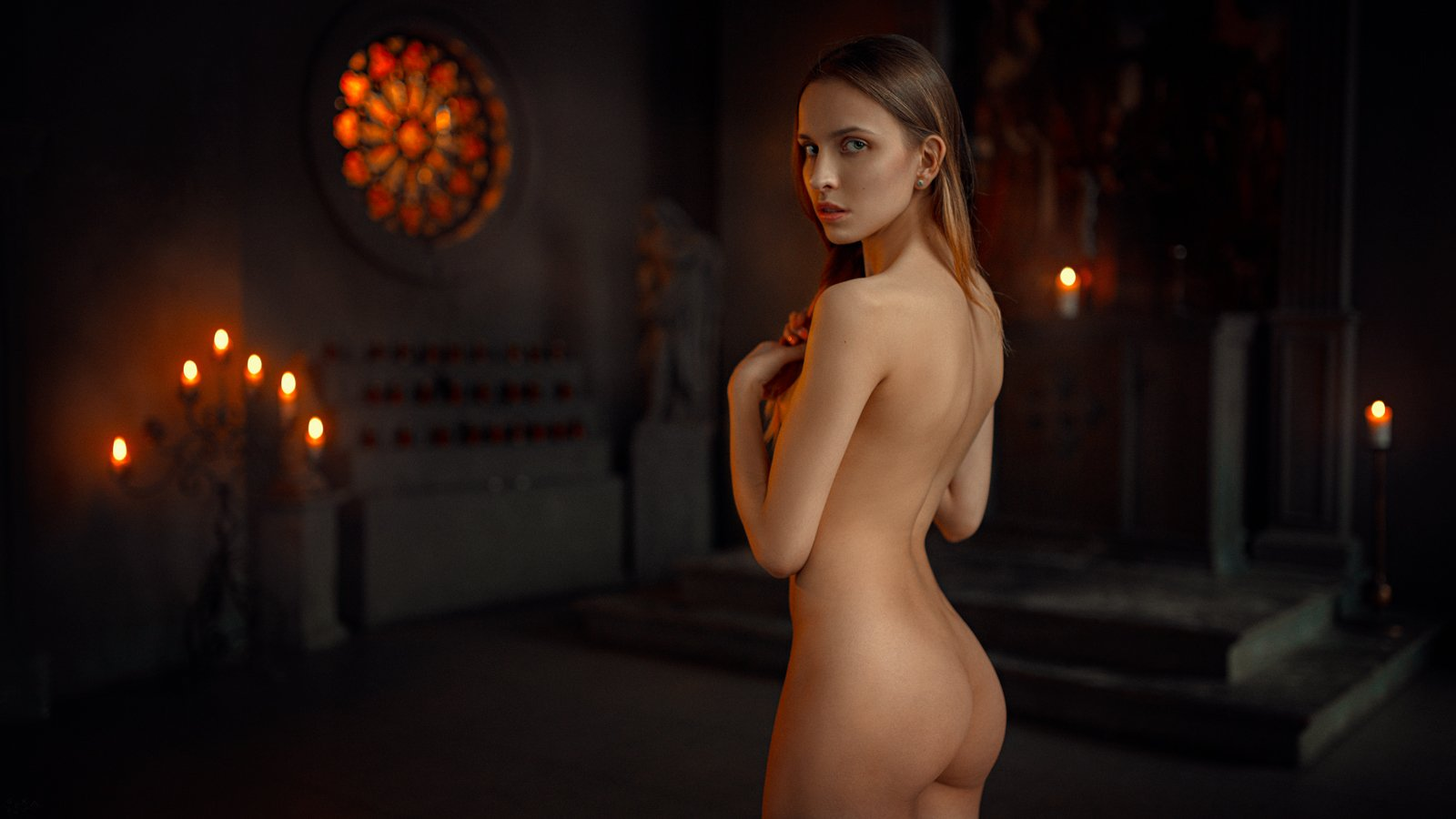 ню, арт, портрет, art, nude, Георгий Чернядьев