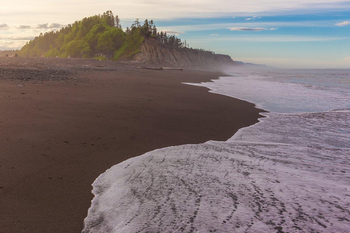 сахалин, остров, охотоморье, охотское море, сахалинская область, отлив, закат, Кирилл Уютнов