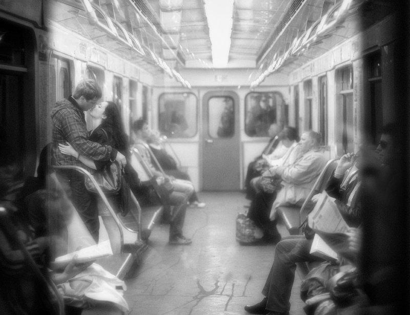 метро, люди, viktorova