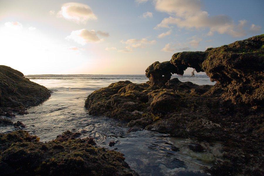 путешествие, индонезия, бали, океан, скалы, камни, странник, закат, пейзаж, Y.S.