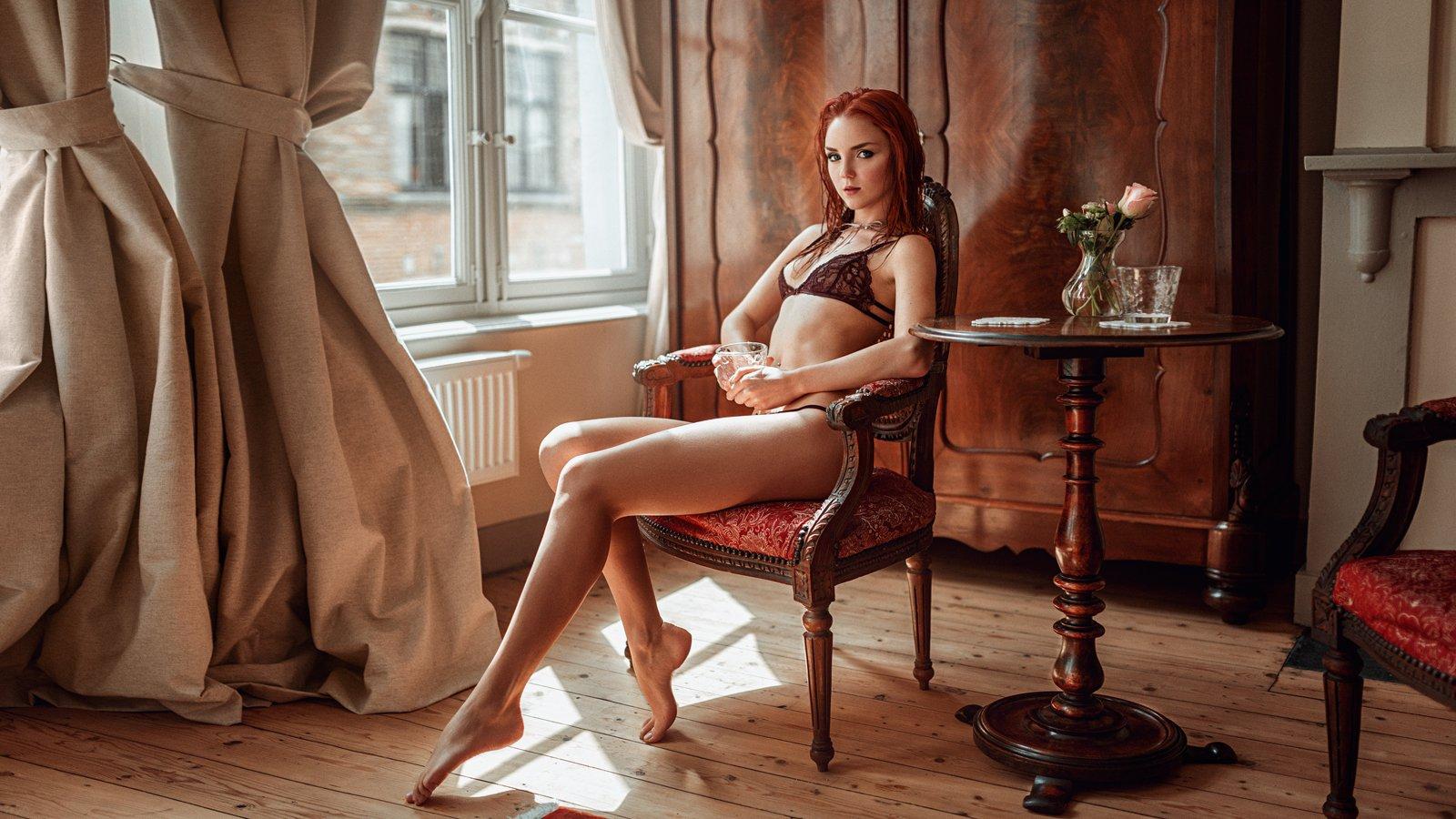портрет, арт, модель, portrait, art, гламур, Георгий Чернядьев