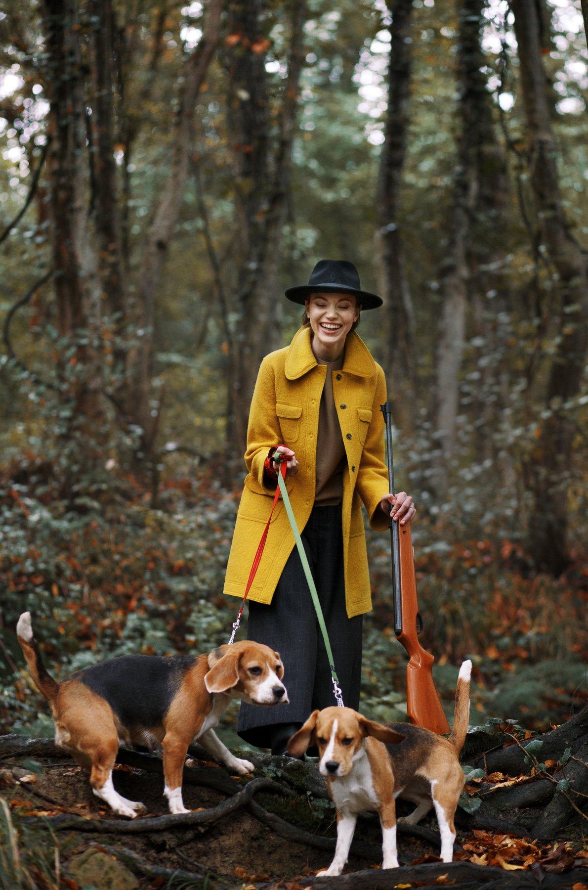 портрет фотография модель осень стиль, Наталья Санникова