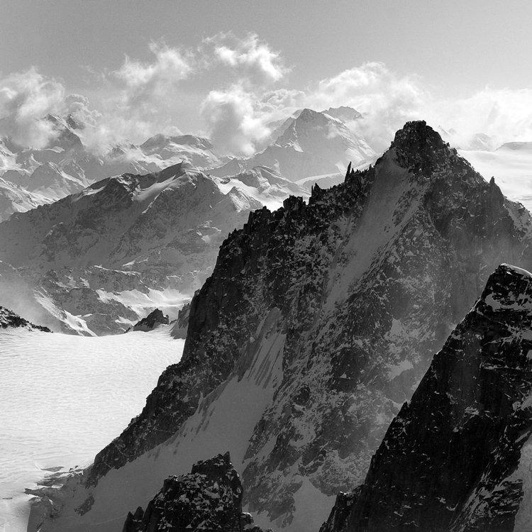 франция, альпы, шамони, пейзаж, горы, монблан, Y.S.