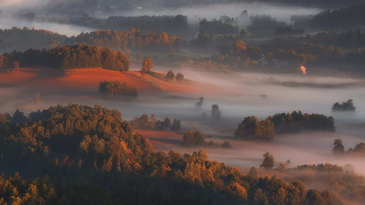 landscape,canon,mist,light,autumn, Iza,Darek