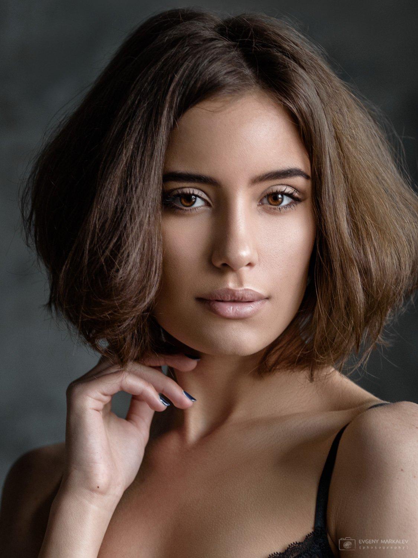 портрет, девушка, студия, естественный свет, portrait, girl, indoors, natural light, Евгений Маркалев