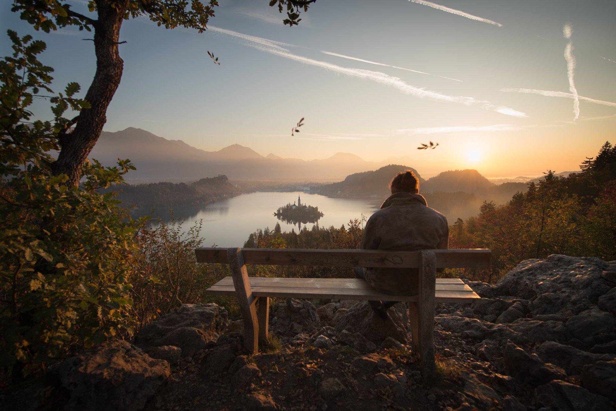 Bled, slovenia, sunrise, hope, sorrow, Jarkko Järvinen