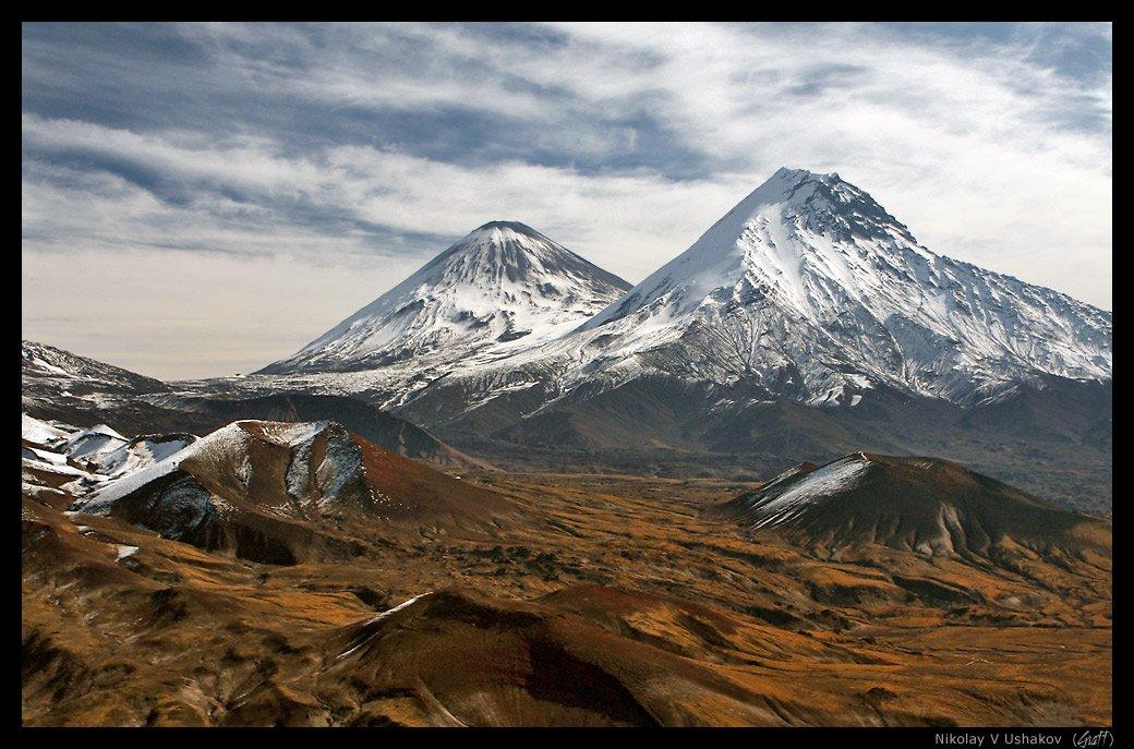 камчатка, вулканы, Николай Ушаков (Graff)