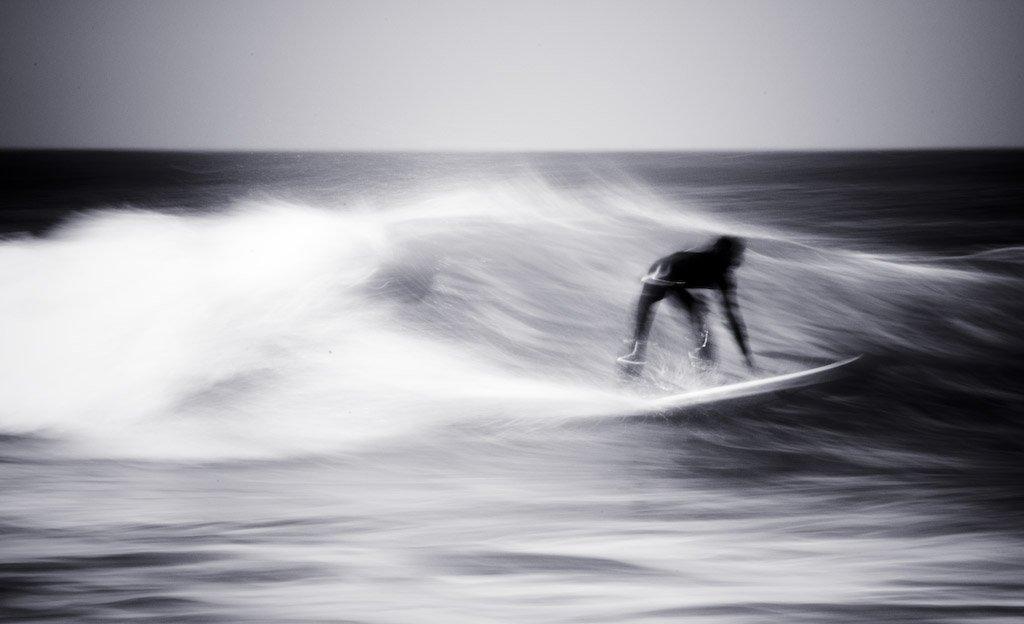 серфинг, пляж, движение, динамика, волна, спорт, Grunger