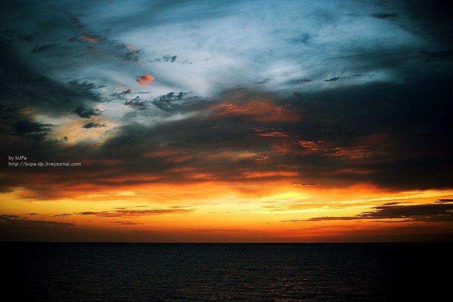 закат, море, сочи, kUPa  Стеценко Игорь