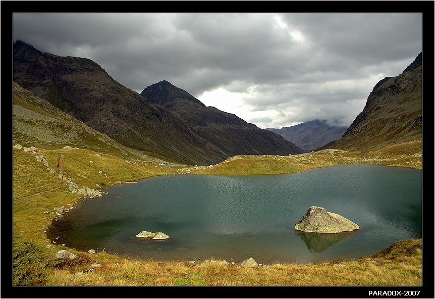 юлиер перевал, julier pass,switzerland,озеро,камни,paradox, PARADOX