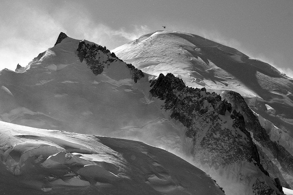 горы, пейзаж, альпы, шамони, франция, монблан, хелибординг, сноуборд, Y.S.