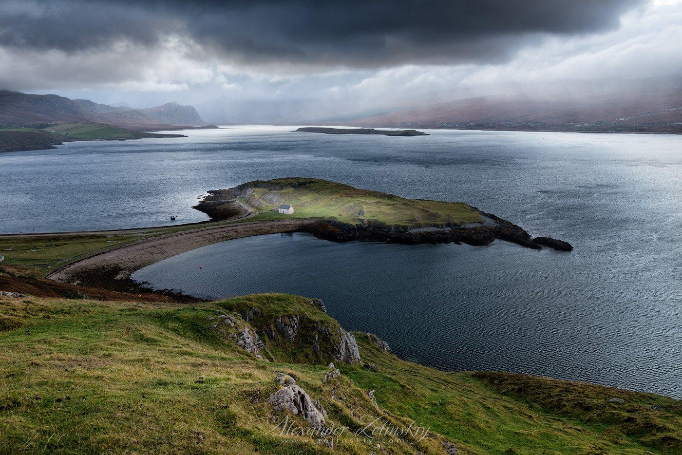 Loch Erribell, шотландия, Alex Mimo