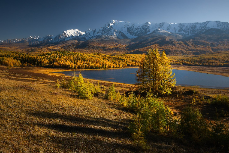 алтай, горы, осень, караколь, куркурек, Владимир Ляпин