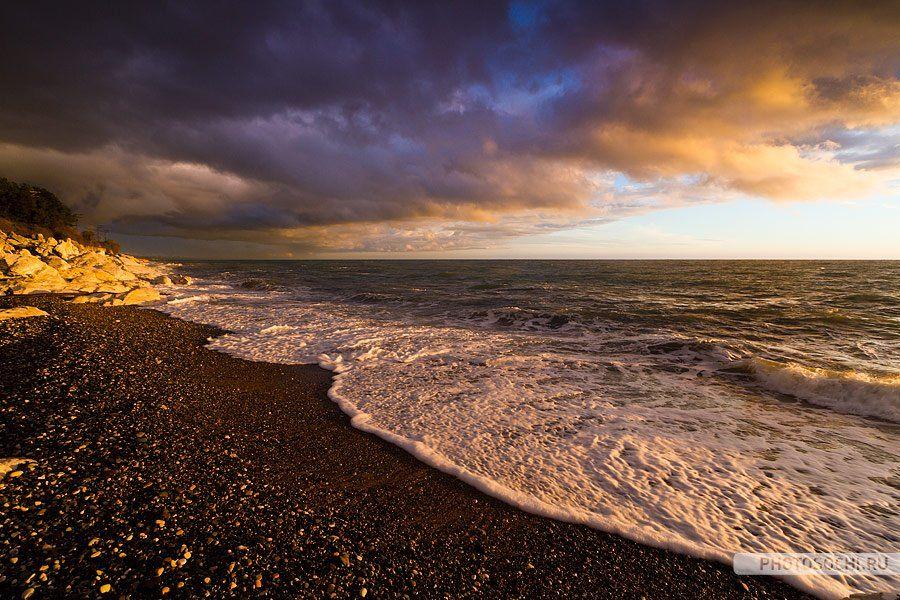 море, пейзаж, природа, Евгений Харланов