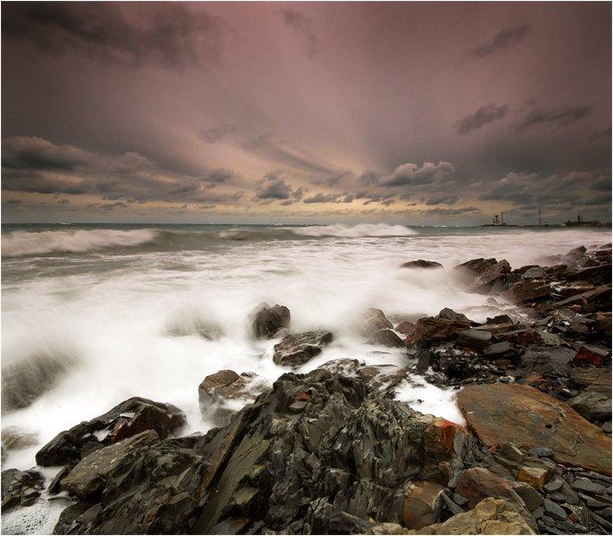 море,шторм,анапа, Александр Штин