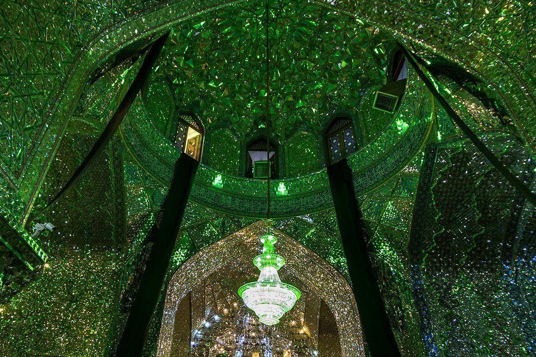 иран,мечеть,зеркала,мозаика,архитектура,путешествия,вера,люди, Слащилина Нина