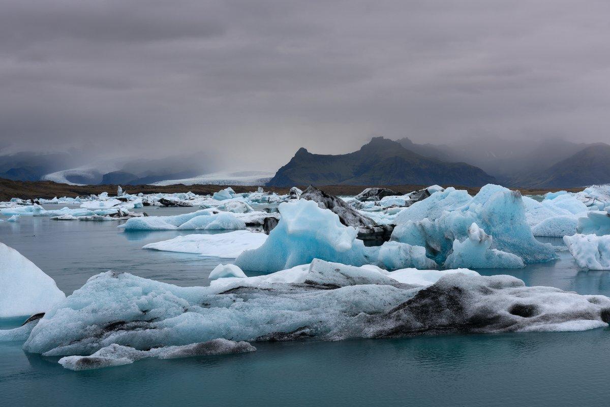 Glacier, Iceland, Константин Маслак