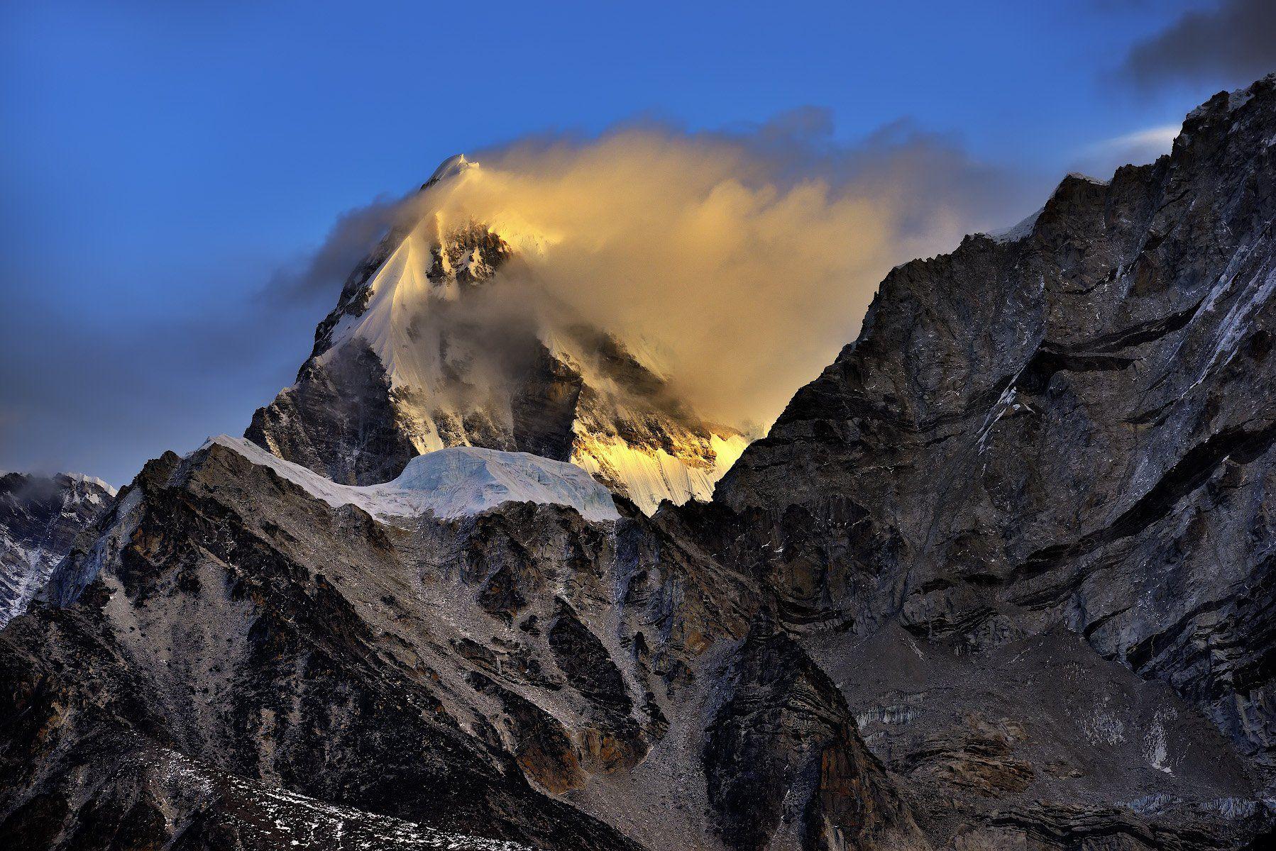 горы, утро, непал, гималаи, Храмцов Владислав