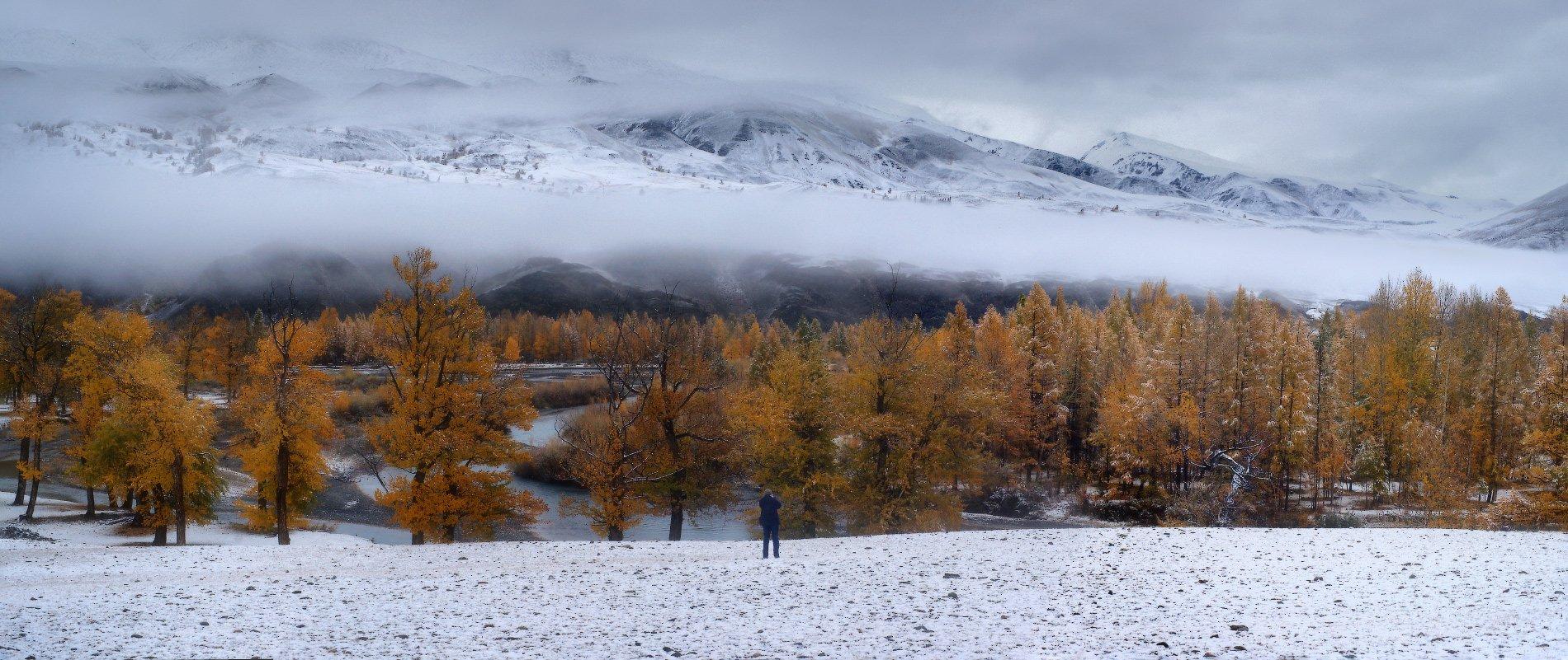 алтай, горы, осень,чаган-узун, Владимир Ляпин