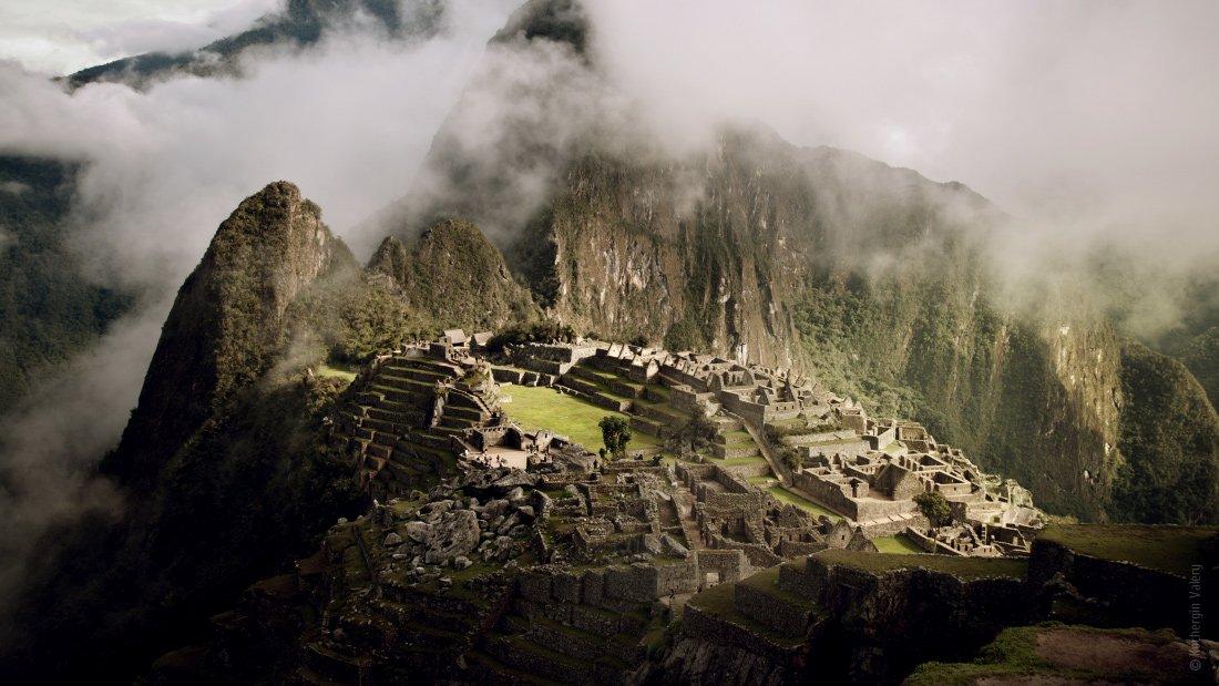 южная америка, мачу-пикчу, machu-pichu, инки, перу, америка, облака, горы, развалины, Kochergin Valery