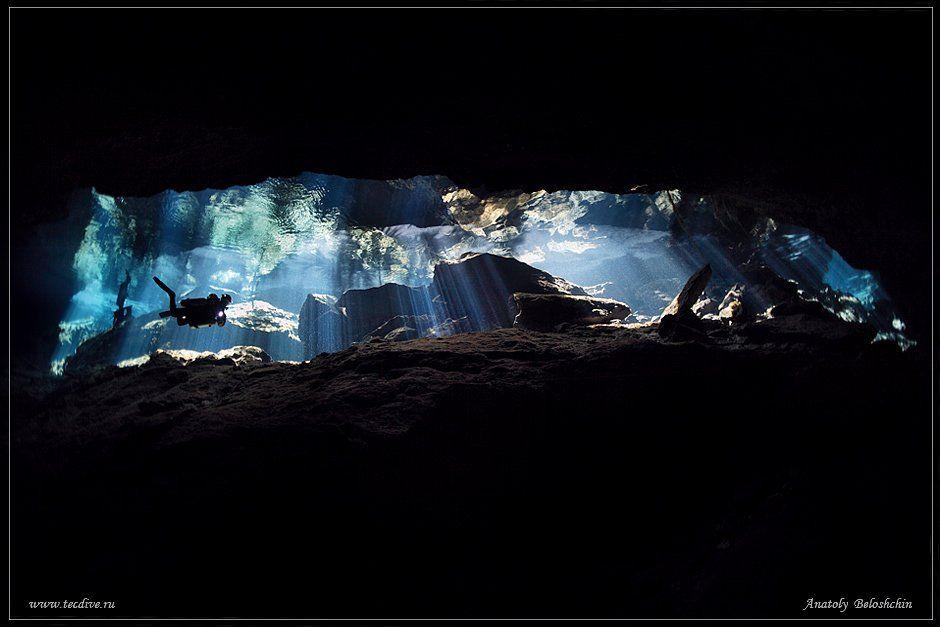 cave chac mool, anatoly beloshchin, seacam, Anatoly  Beloshchin