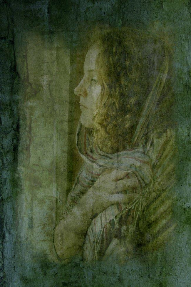 фреска, портрет, Anastasia Aymilios