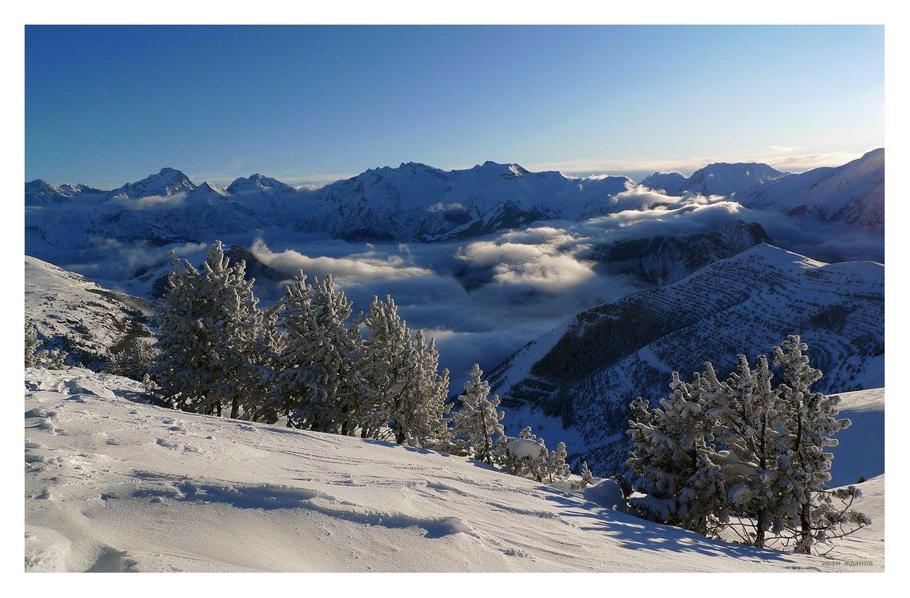 горы, альпы, Иван Жданов