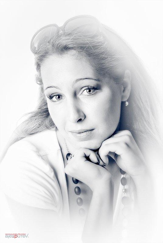 zara,портрет,черное,белое, Александр Путев